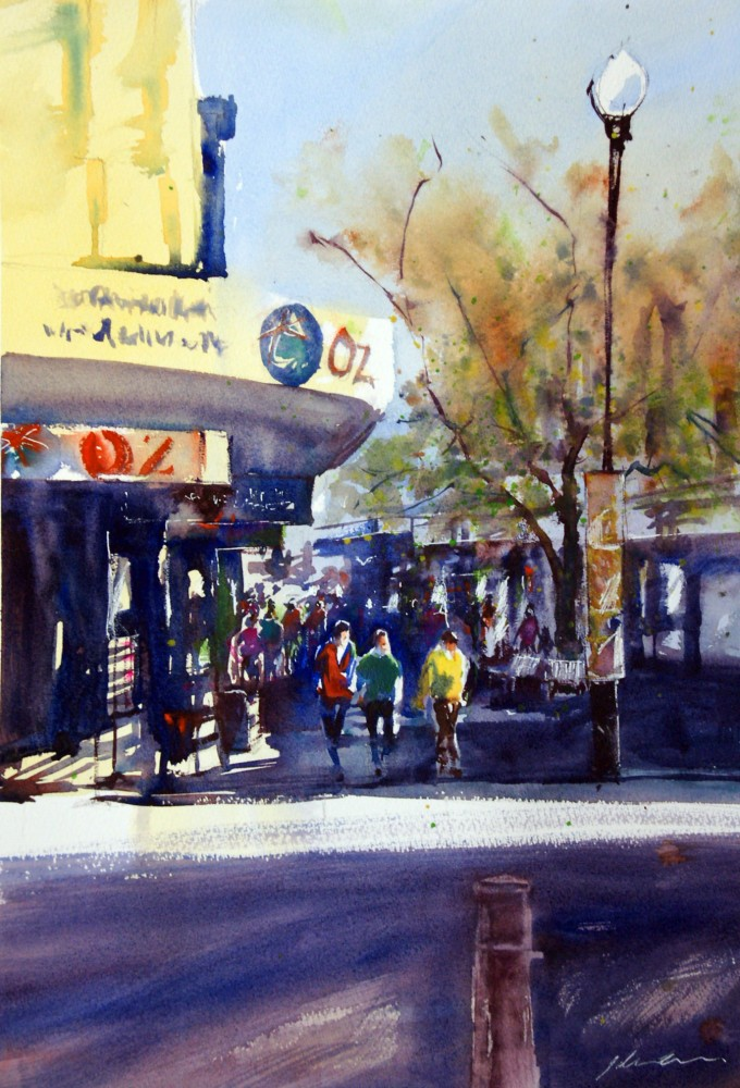 The Mall - Fremantle by Jill Bryant