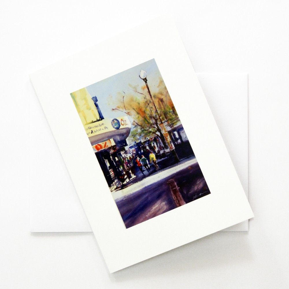'The Mall - Fremantle WA' CARD by Jill Bryant