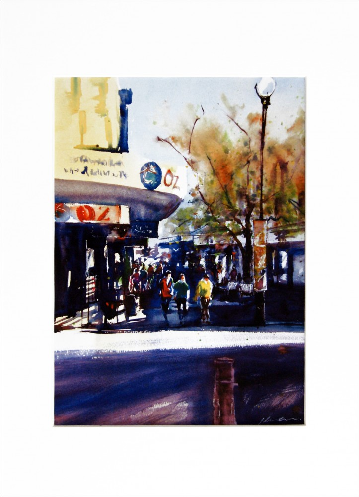 'The Mall - Fremantle WA' PRINT by Jill Bryant