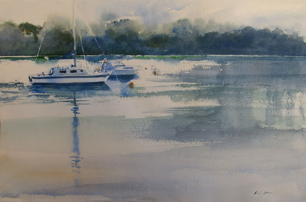 Morning on the River by Jill Bryant